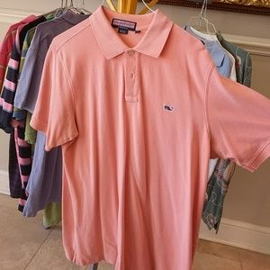 Vineyard vines collard shirt